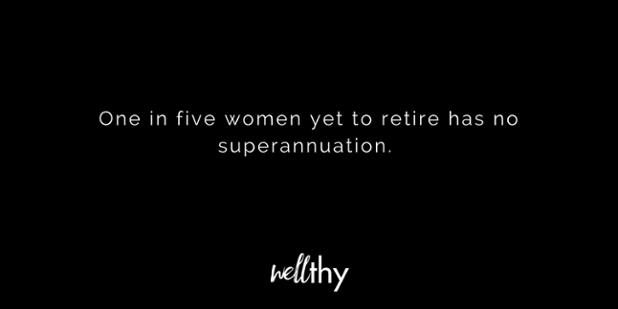 Research lack of superannuation Australian women